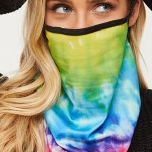 NWT 3/$25🎉 Tie Dyed Mask 3-in-1!